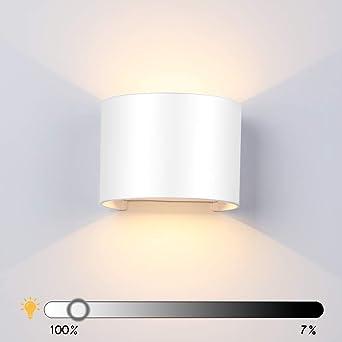 Salle Interieur Lampe Chambre Blanc Dimmable De Reglable Angle Pour Bain Chaud Murale Ip65 3000k Mur Applique Exterieur Moderne Etanche Led 13w tsdohCxBQr