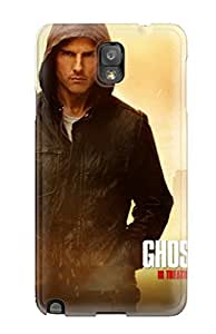 Hot Snap-on Tom Cruise In Mission Impossible 4 Hard Cover Case/ Protective Case For Galaxy Note 3