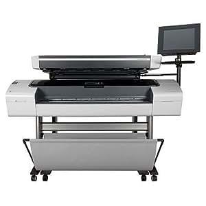"HP Designjet T1100 MFP - Impresora de gran formato (Adobe PostScript® 3, Adobe PDF 1.6, HP-GL2/RTL, CALS G4, TIFF, JPEG, HP PCL 3 GUI, Cyan, gris, magenta, negro mate, negro fotográfico, amarillo, 1118 mm, Hasta 0,8 mm (Hasta 0.0315 ""), 5 mm, Inyección térmica de tinta HP)"