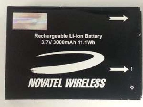 New Original OEM Novatel Wireless Replacement Rechargeable Extended Li-ion Battery 3.7V 3000mAh 11.1Wh (Part # MH29577) For Verizon Wireless Jetpack 4G LTE Mobile Hotspot Mifi 4620L / 4620LE