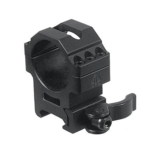 UTG 30mm/2PCs Med Pro LE Grade Picatinny QD Rings: 25mm Wide by UTG
