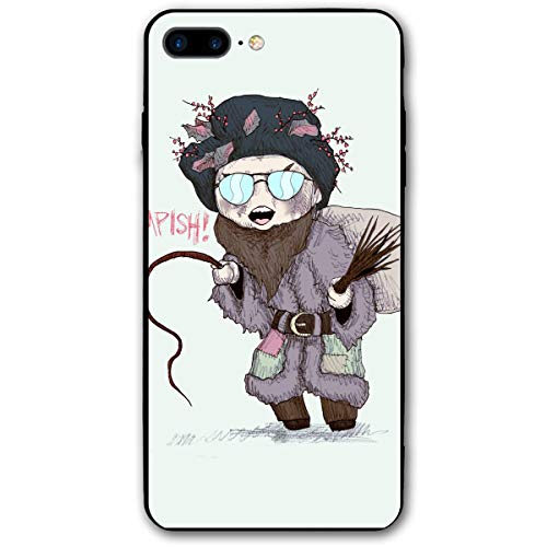 Belsnickel Santa Funny Retro iPhone 8 Plus Case, iPhone 7 Plus Case, Ultra Thin Lightweight Cover Shell, Anti Scratch Durable, Shock Absorb Bumper Environmental Protection Case ()