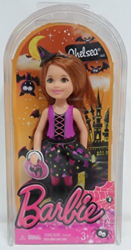 Barbie Halloween Doll - Chelsea in Cat Witch Costume by Mattel]()