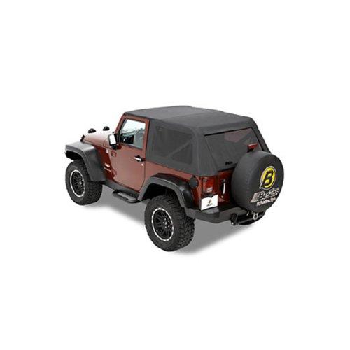 bestop 56804 35 trektop classic soft top for 1997 2016 jeep 2 door jk wrangler buy online in. Black Bedroom Furniture Sets. Home Design Ideas
