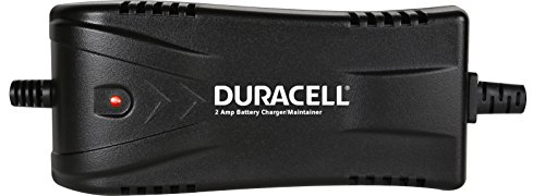 Duracell DRBM2A Battery Charger/Maintainer, 2 Amp, (Duracell Quick Charger)
