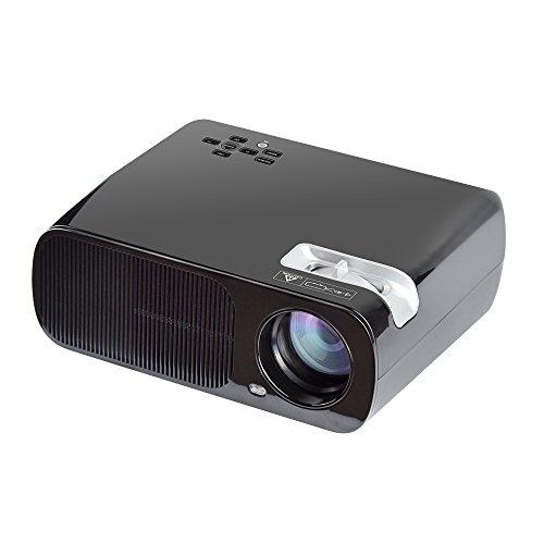 Yuntab Portable beamer Full HD 1080P Multimedia Mini LED Projektor 2600 lumen Videoprojektor mit VGA-USB-TV-AV-HDMI für…