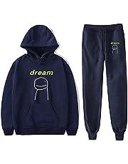 BBCS Dream Merch huvtröja + byxor sweatshirts män kvinnor pullovers Harajuku Tracksui 2021 herr huvtröja streetwear casual mode överdimensionerade kläder