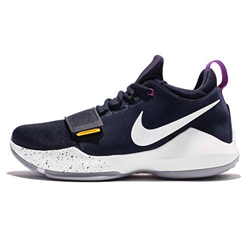 Nike Mens Pg 1 Ep, Obsidian / Vit-universitets Guld Obsidian / Vit-universitets Guld