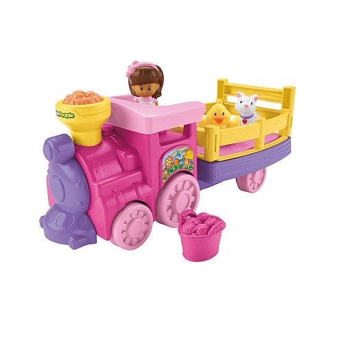 Mattel Little People (Fisher-Price Little People Musical Animal Zoo Train)