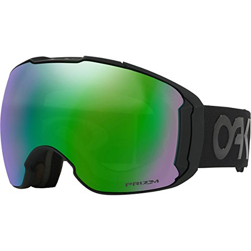 Oakley Airbrake XL Asian Fit Snow Goggles, Matte Black Frame, Prizm Jade Iridium Lens, - Prizm Airbrake Oakley Xl
