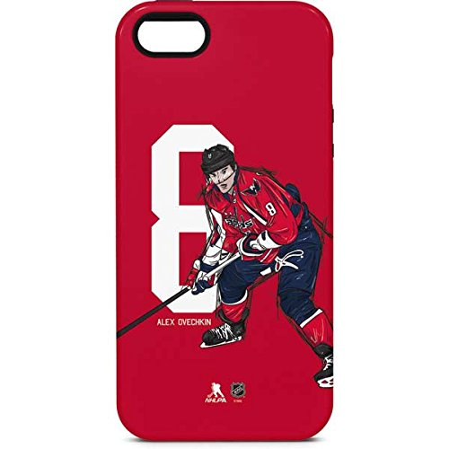 Washington Capitals iPhone 5/5s/SE Case - Alex Ovechkin #8 Action Sketch | NHL & Skinit Pro Case