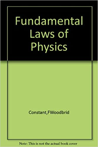 Fundamental laws of physics (Addison-Wesley series in