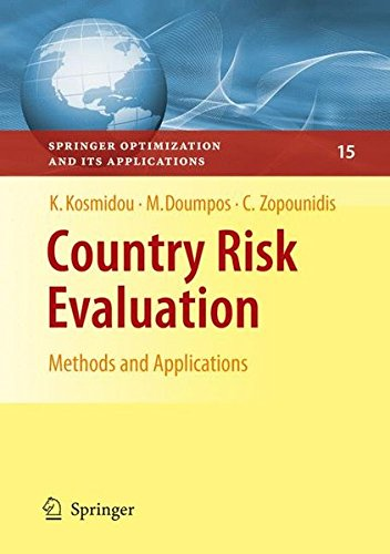Country Risk Evaluation: Methods and Applications (Springer Optimization and Its Applications)