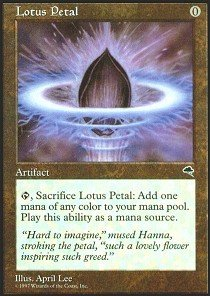 Magic: the Gathering - Lotus Petal - -