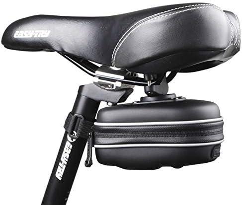 自転車用サドルバッグ 自転車ワンハードシェルサドルバッグクッションバッグ防水テールバッグ MBTまたはロードバイクシート用
