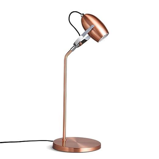 Lámpara de escritorio LLEVÓ Moderno Simple Ajustable Cabeza de la ...