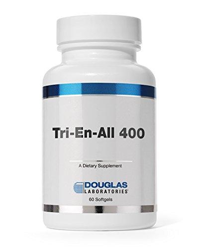 Douglas Laboratories - Tri-En-All 400 - Supplement for Heart Health* - 60 Softgels