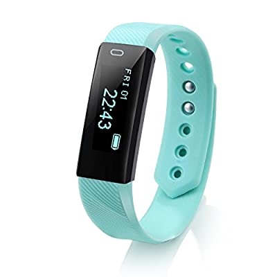 Activity Tracker, LCStream Smart Watch Health Bracelet Fitness Tracker with Step track, Calories track, Sleep monitor, pedometer for iOS and Android