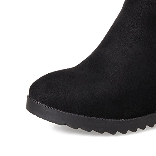 BalaMasa Abl09300, Sandales Compensées femme Noir