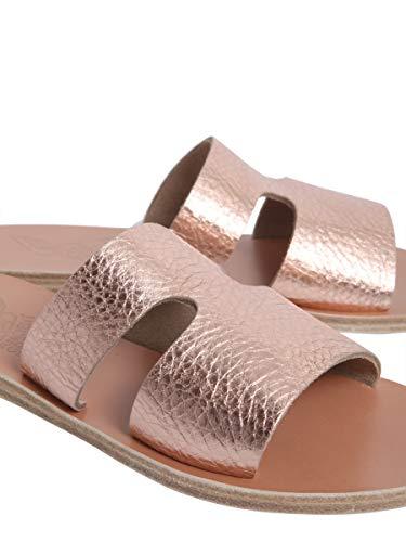 Donna Ancient Greek Apterosmetalliccrostapink Sandals Sandali Pelle Rosa qqp4Cr7wt