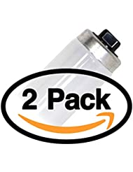 "(2 Pack) Sylvania F30T12/CW/HO 42 Watt T12 Fluorescent Tube Light Bulb - Cool White - F30T12 High Output 42W - 30 "" Inch - 4,200K"