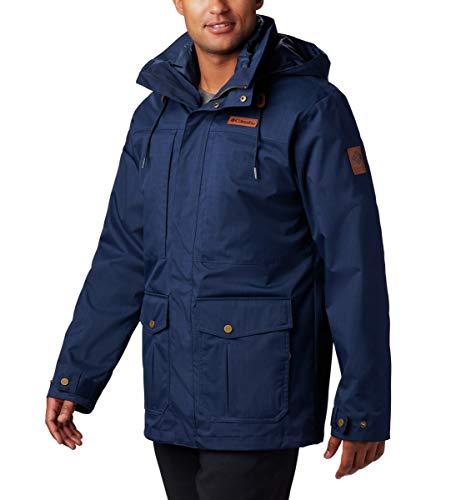 Columbia Men's Horizons Pine Interchange Jacket, Collegiate Navy, X-Large