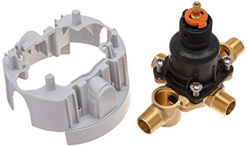 (Kohler K-8304-KS-NA Rite-Temp Pressure-Balancing Valve Body and Cartridge Kit with Service Stops, One Size (Renewed))