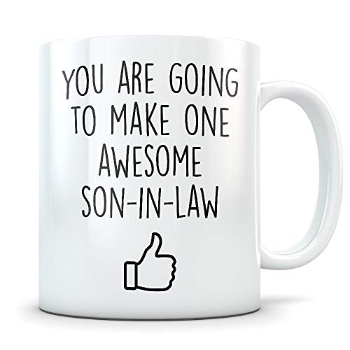 Mug Creatory - Son-in-law Gift, Son-in-law mug, son-in-law coffee mug, gift from mother in law, gift from father in law, future son in law, new son in law, Coffee Mug 11oz