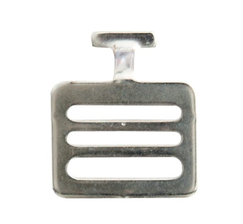 Champro Shoulder Pad T-Hook (Silver, 1.5-Inch)