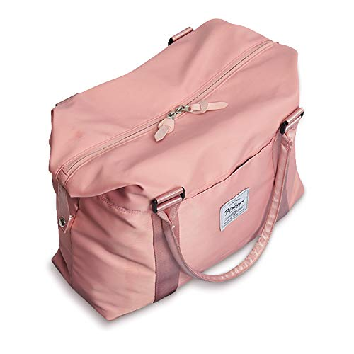 Womens travel bags, weekender carry on for women, sports Gym Bag, workout duffel bag, overnight shoulder Bag fit 15.6 inch Laptop