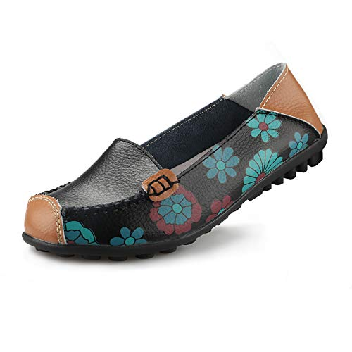 Ablanczoom Womens Comfortable Leather