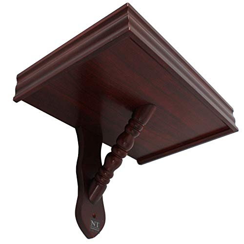 NT furniture Buddha Altar Shelf Stand Wooden Wall Rack Nop (12x18x12.5 inches, Cherry) by NT furniture (Image #4)