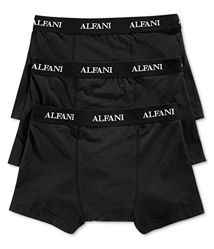 Alfani Men's Knit Tagless Slim Fit Stretch Trunks 3-Pack XL (XL) from Alfani