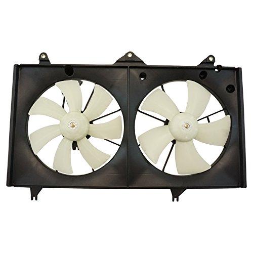 (Dual Radiator AC Cooling Fan w/Motor for Toyota Camry Solara 2.4L)