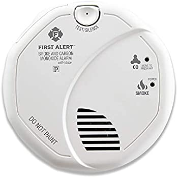 First Alert Smoke And Carbon Monoxide Alarm Red Light