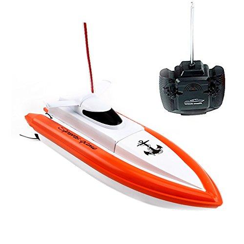 Rabing Remote Control Electric Boat Orange