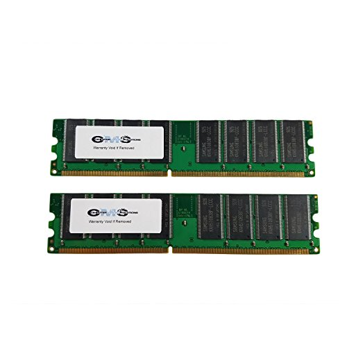 2Gb (2X1Gb) Ram Memory Compatible With Dell Optiplex Gx270 Series Desktop Ddr1 By CMS A112 400 Mhz Ddr1 Desktop
