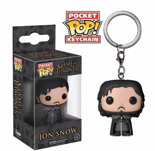 Pocket Pop Funko Chaveiro Jon Snow - Game Of Thrones