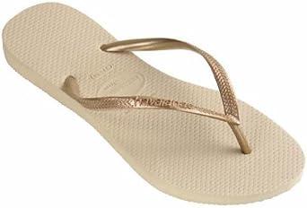 Havaianas Slim Sand Grey/Light Golden