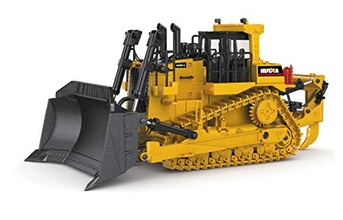 Ailejia 1/50 Scale Diecast Bulldozer Large Track Type Tractor Alloy Dozer Models Construction Vehicle s Model Engineering Car Toy Business Gifts - Bulldozer Model