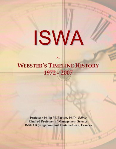 ISWA: Webster's Timeline History, 1972 - 2007