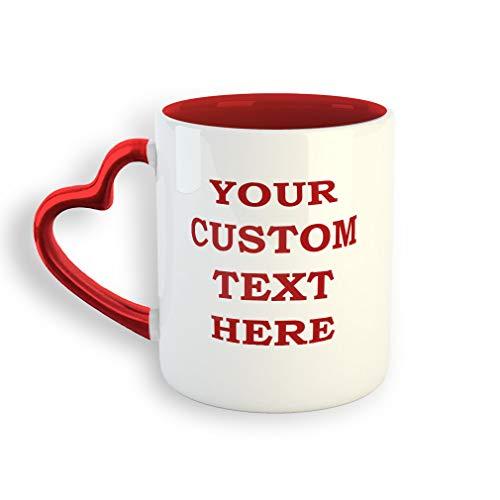 Personalized Custom Coffee Mug Ceramic Valentine
