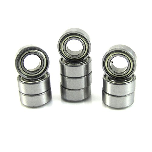 Traxxas 4609 5x10x4mm Replacement Precision Ball Bearings MR105-ZZ (10)
