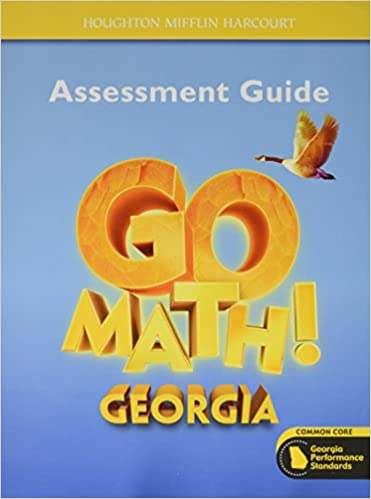 Houghton Mifflin Harcourt Go Math Assessment Guide Grade 4