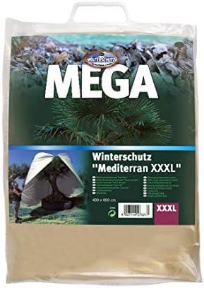 28158 NEU Winterschutzhaube MEDITERRAN XXL 350x250 cm