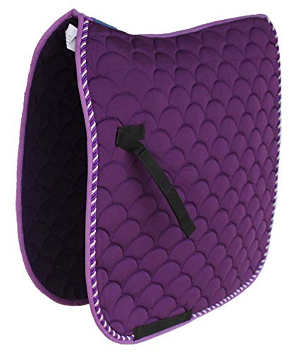 Professional Equine Horse Quilted ENGLISH SADDLE PAD Trail Dressage 7295PR