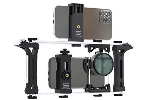 Grip modular universal para celulares camaras de accion Dslr