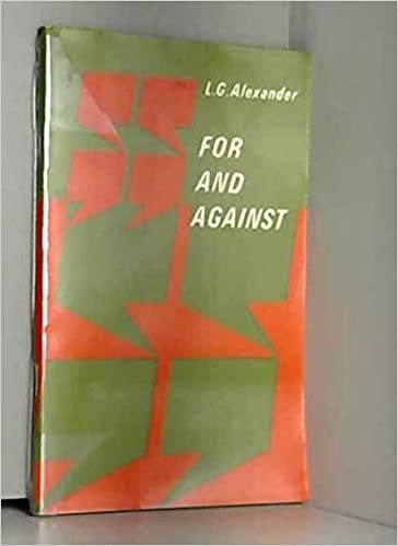 For And Against Book