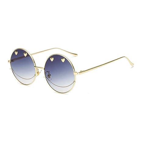 1abaca9578082 Rosa Sol Gafas Xingmu De Vidrios Señora Mujer Transparente Amarillos  wqaxAFUC