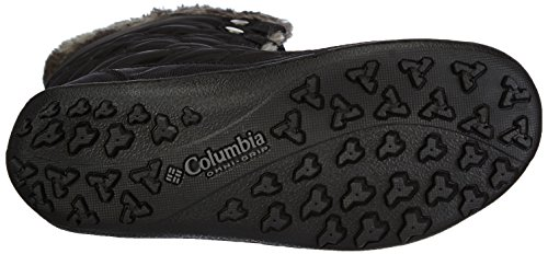 Columbia Women's Minx Mid II Omni-Heat Winter Boot, Black/Charcoal, 5.5 M US